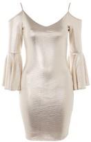 TFNC **Ivy Cold Shoulder Mini Dress