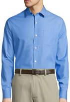 Claiborne Long-Sleeve Chambray Shirt