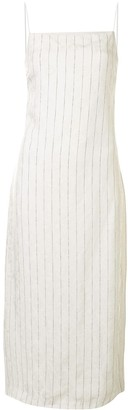 Dion Lee Pinstripe Slip Dress