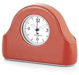 Michael Graves Design Faux-Leather Mantel Clock