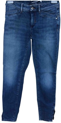 Sportmax Blue Cotton Jeans for Women
