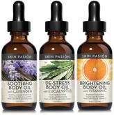 Skin Pasion Relax & Revive Body Oil Treatment - Set of 3
