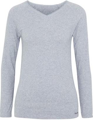 Fusalp Troop Mesh-trimmed Modal-blend Jersey Top