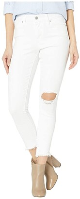 Levi's Womens Womens 721 High-Rise Skinny Ankle (Iced Out) Women's Jeans