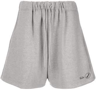 we11done logo track shorts
