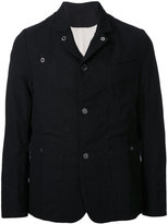 Undercover buttoned jacket - men - Cotton/Linen/Flax - 3