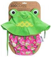 Zoocchini Swim Diaper and Sun Hat Set Frog- 6-12m