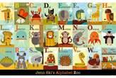 Art.com Alphabet Zoo