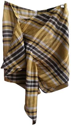 Birgitte Herskind Multicolour Silk Skirt for Women
