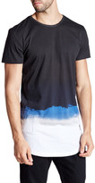 Religion Water Color Short Sleeve Longline Tee