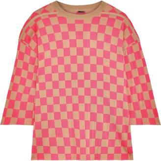 ADAM by Adam Lippes Intarsia Merino Wool Sweater