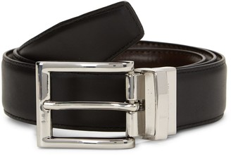 Cole Haan Reversible Slim Leather Belt