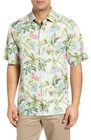 mens tommy bahama bloom town silk sport shirt