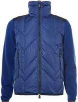 Moncler Virgin Wool-panelled Quilted Down Ski Jacket
