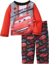 Komar Kids Baby Boys' Cars Poly 2 Piece Pajama Set