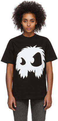 McQ Black and White Mad Chester T-Shirt