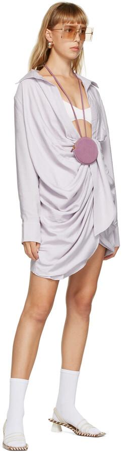 Thumbnail for your product : Jacquemus Purple 'La Robe Bahia' Dress