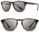 Shwood Men's 'Francis' 49Mm Polarized Sunglasses - Bourbon/ Elm/ Grey