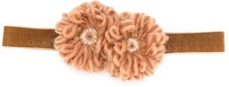 Caffe' D'orzo Adjustable Floral Headband