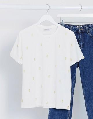 Fabienne Chapot Phil pineapple print t-shirt