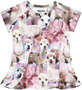 Molo Lovely Llama Robbin T-Shirt