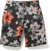 Old Navy Flat-Front Twill Shorts for Boys