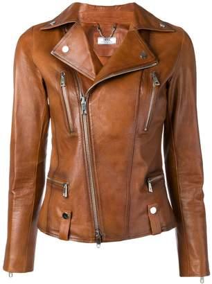 Desa 1972 fitted biker jacket