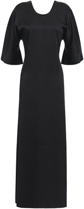 Forte Forte Bow-detailed Satin-crepe Maxi Dress