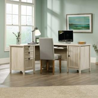 Laurèl Shelby Executive Desk Foundry Modern Farmhouse Color : Chalked Chestnut