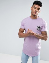 Hype T-shirt In Purple With Logo
