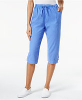Karen Scott Drawstring Capri Pants, Only at Macy's