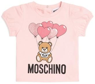 Moschino Kids Teddy Bear Balloon T-Shirt