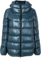Herno padded hooded jacket - women - Feather Down/Polyamide/Polyester - 40