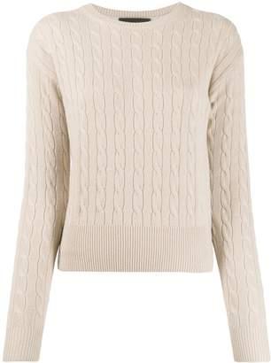 Nili Lotan cable-knit cashmere pullover