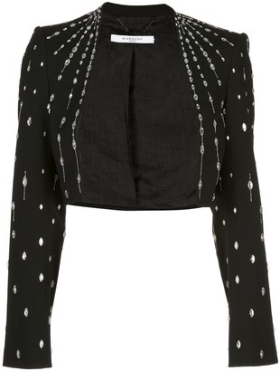 Givenchy Embellished Cropped Jacket