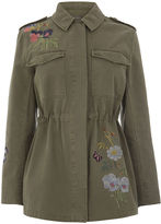 Oasis Embroidered Military Jacket