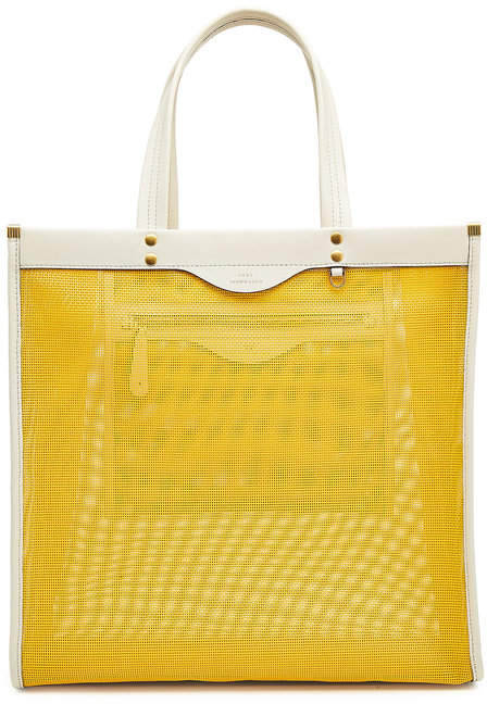 Anya Hindmarch Mesh Shopper with Leather