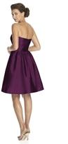 Alfred Sung D542 Bridesmaid Dress in Italian Plum
