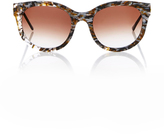 Thierry Lasry Lively Oval-Frame Acetate Sunglasses