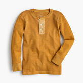J.Crew Boys' long-sleeve garment-dyed henley shirt