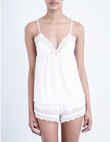 Eberjey anouk jersey and lace cami