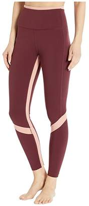 New Balance Transform High-Rise 7/8 Pocket Tights (Black) Women's Casual Pants