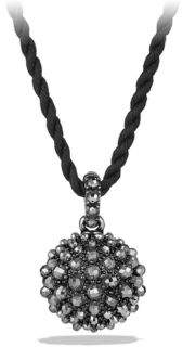 David Yurman Osetra Pendant Necklace with Faceted Hematite