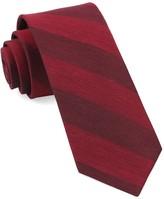 The Tie Bar Burgundy Rsvp Stripe Tie