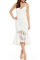 Laundry by Shelli Segal Lace Slip Dress