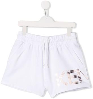 Kenzo TEEN drawstring shorts