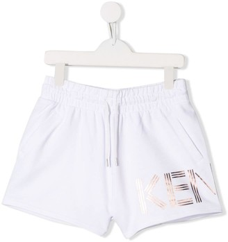 Kenzo Kids TEEN drawstring shorts