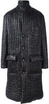 Maison Margiela padded long coat - men - Polyester - 48