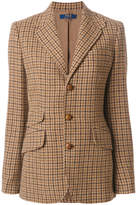 Polo Ralph Lauren asymmetric single-breasted blazer