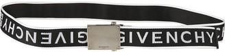Givenchy Logo Strap Print Belt